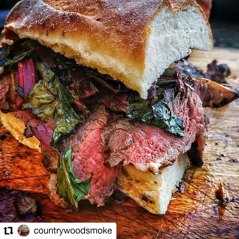 Caveman Steak Sandwich