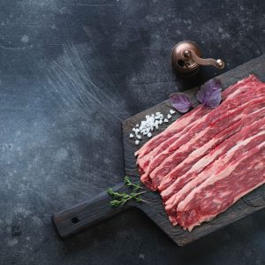Dry Cured Streaky Beef Bacon