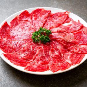 Organic Japanese Sliced Beef Sukiyaki / Shabu-Shabu